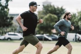 Running with Kieron Douglass