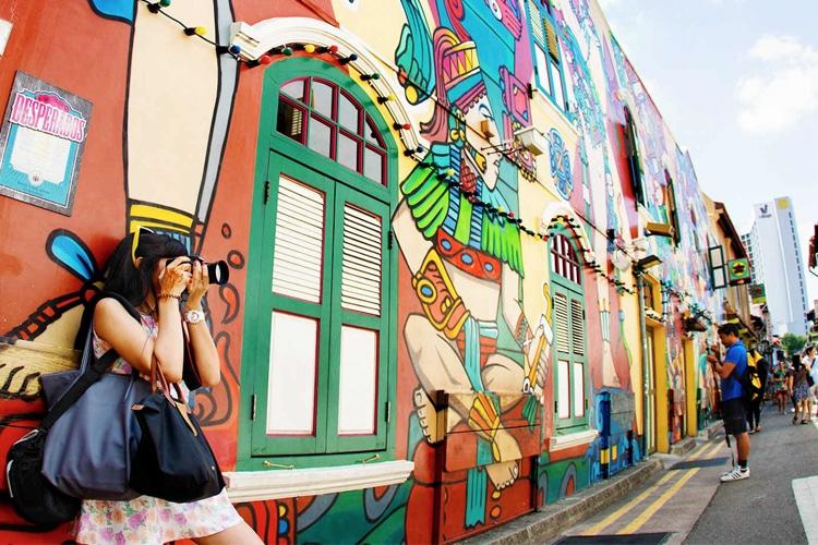 singapore explore haji lane