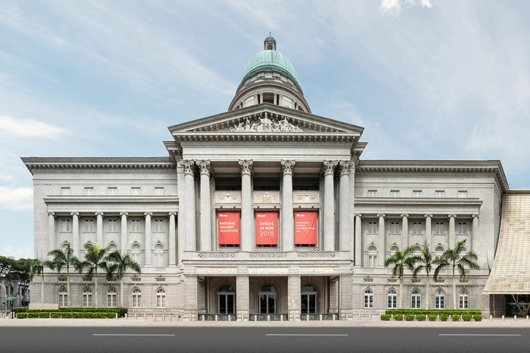 visit the national art gallery singapore