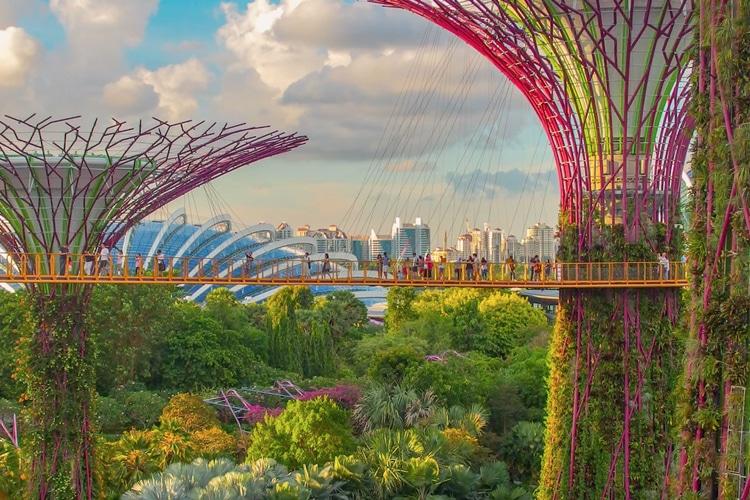 singapore city beautiful side