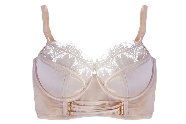 type of bra with a low cut