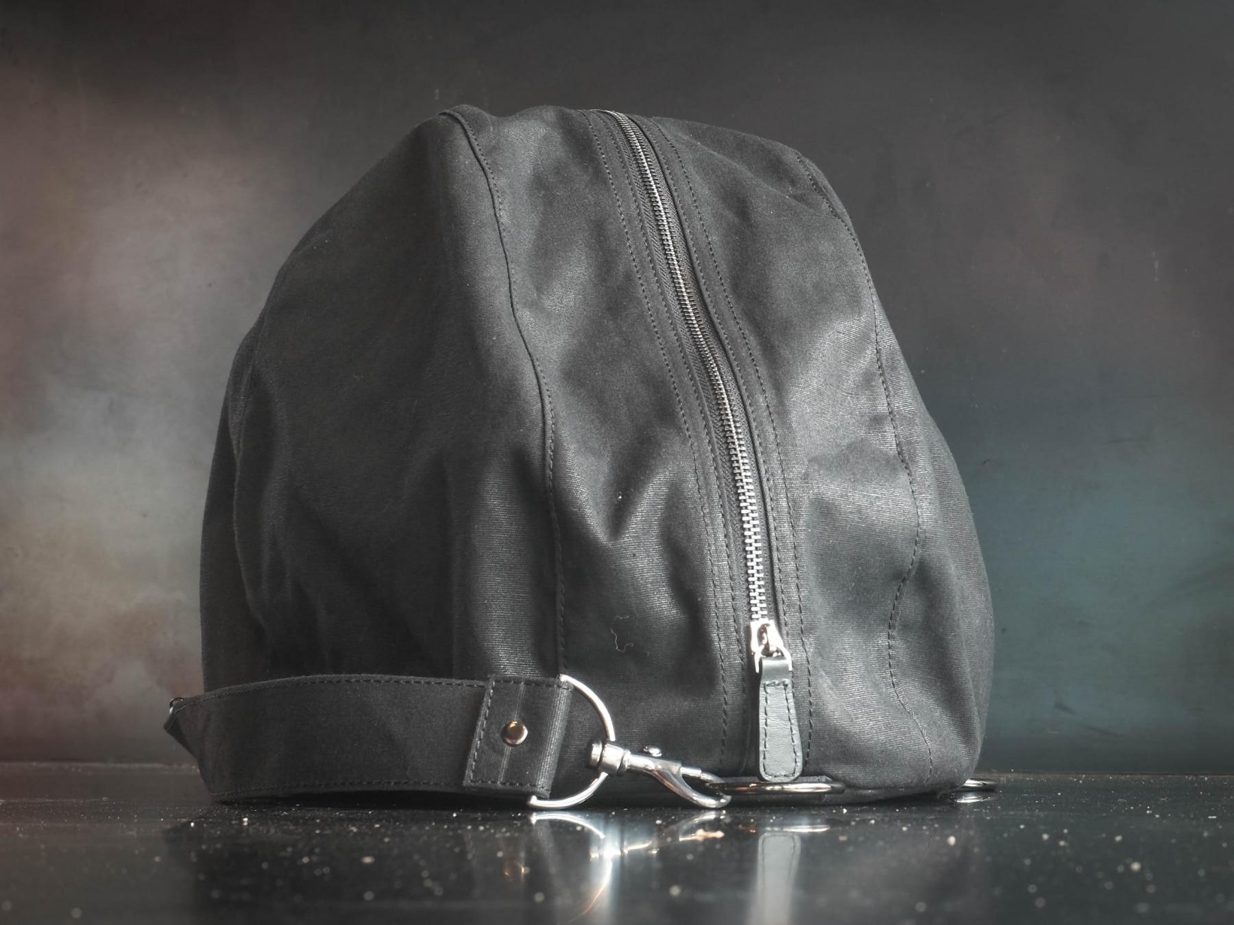 classic motorcycle helmet bag zipper