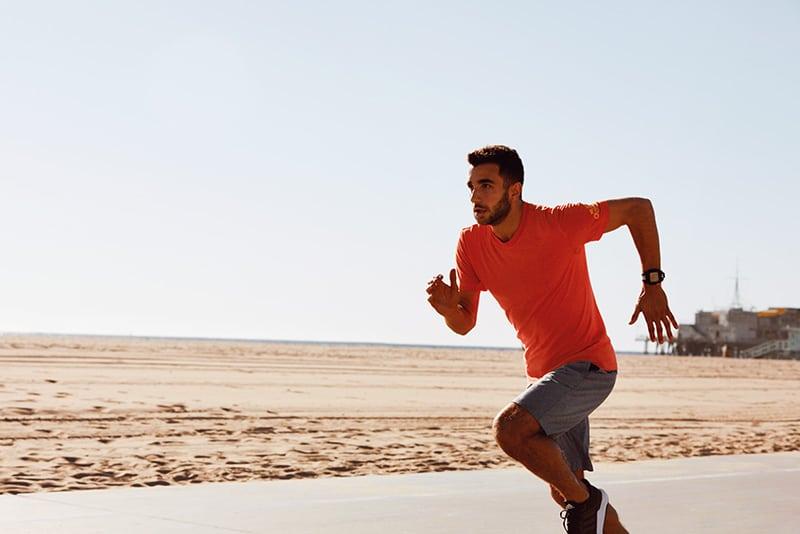 man stamina running