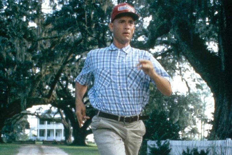 forrest gump hero running