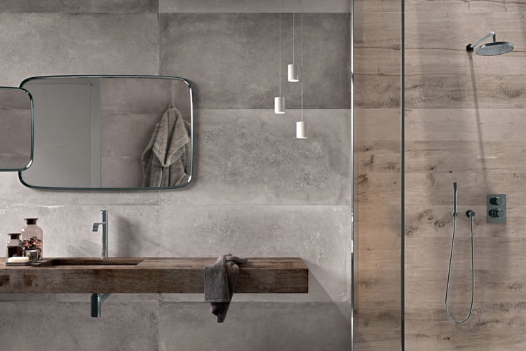 masculine bathroom use neutral colours