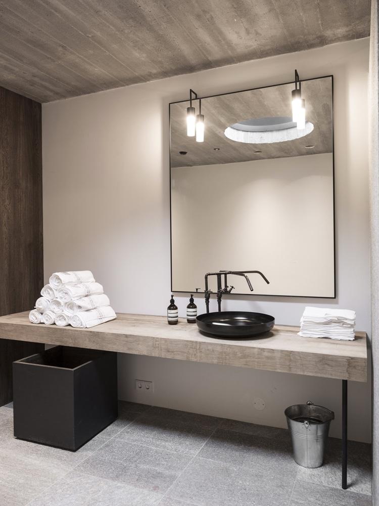 masculine arredo bagno minimal chic bathroom