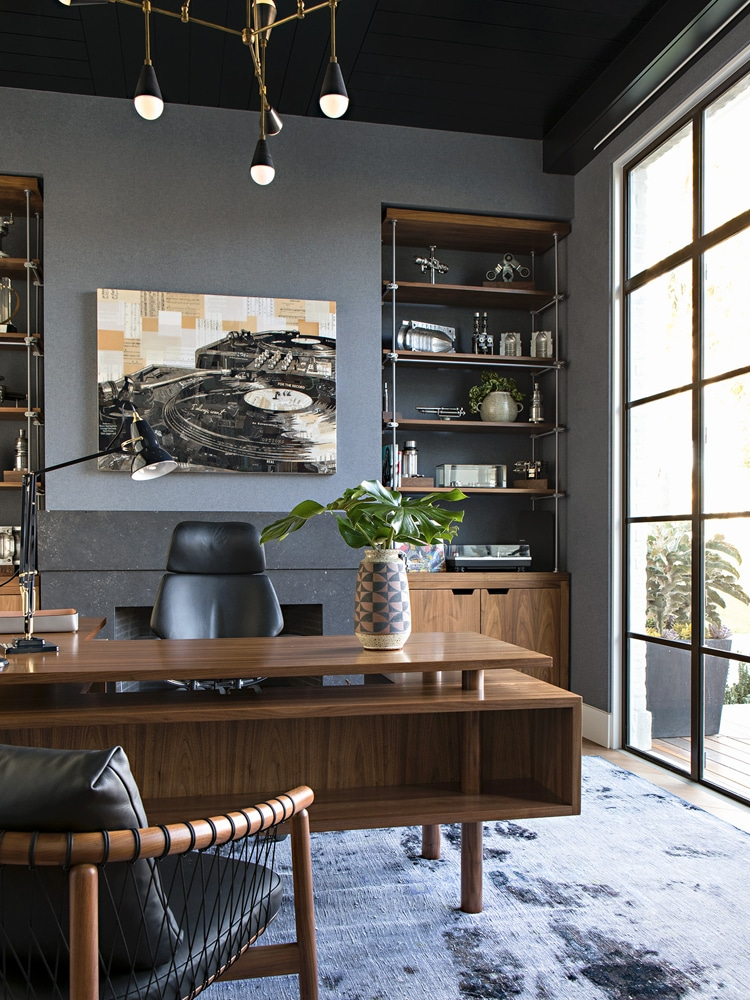 Masculine Home Office Best Interior
