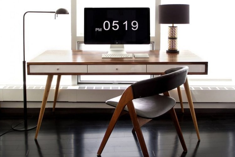masculine home office ideas desk count