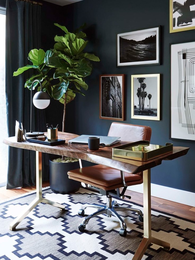 35+ Masculine Home Office Ideas & Inspirations | Man of Many on unusual home offices, sensational home offices, teal blue home offices, luxurious home offices, pretty home offices, interesting home offices, old style home offices,