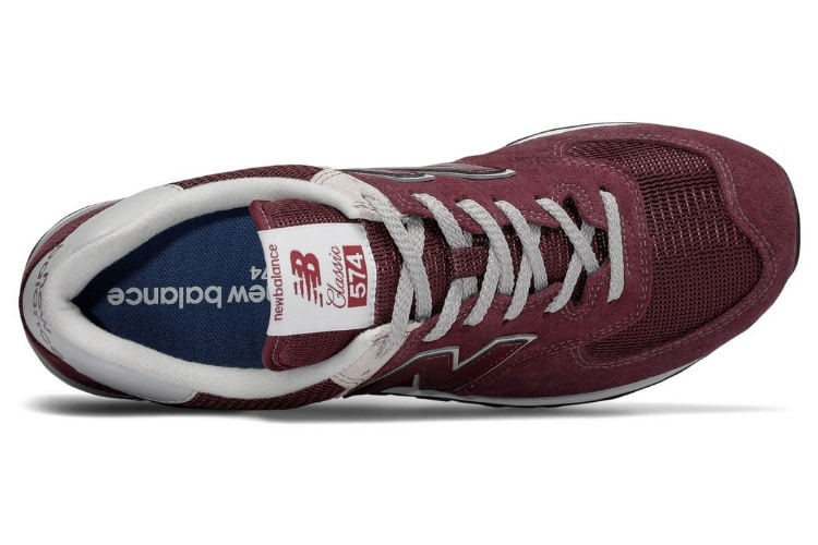 classic 574 sneaker shoe collar