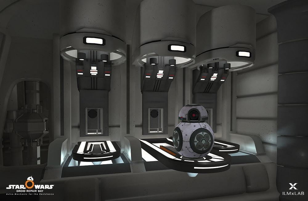 star wars droid repair vr