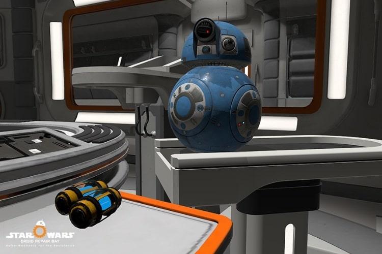 star wars droid repair bay is created  ilmxlab