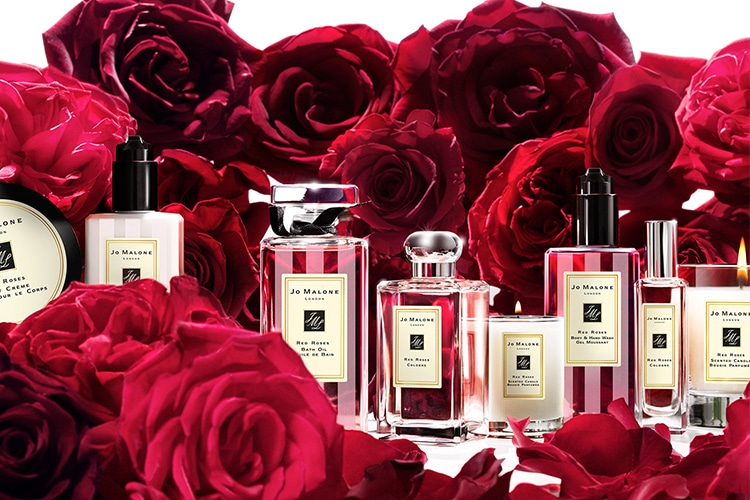 jo malone red roses collection
