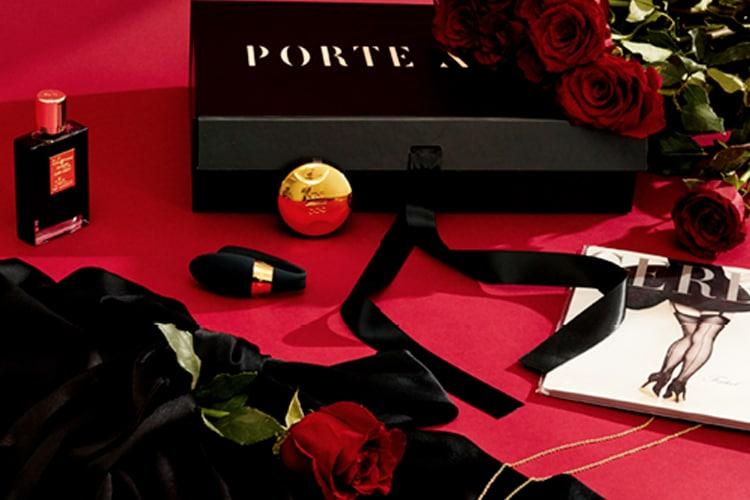 porte à vie lux noir box