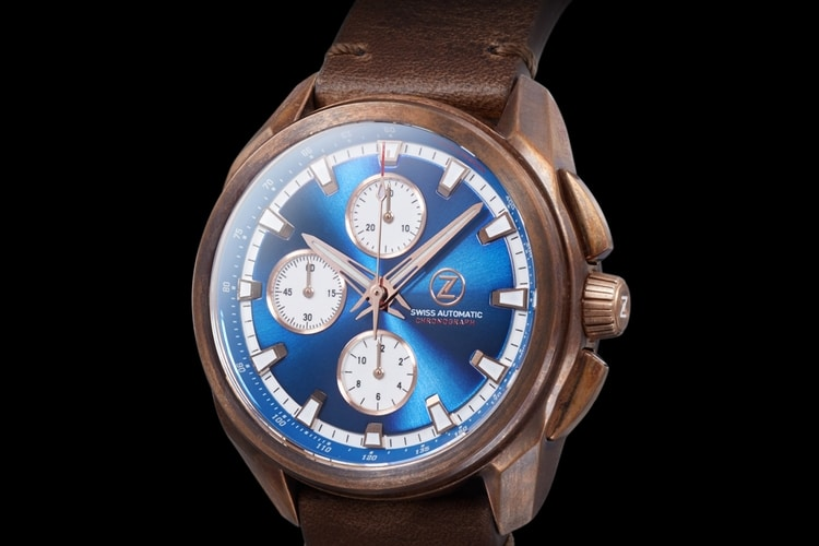 zelos watch blue