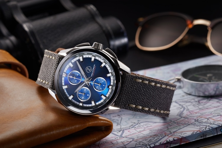 zelos launch automatic chronograph zx series
