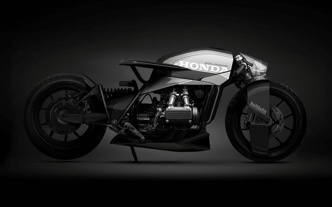 barbara custom motorcycle engine