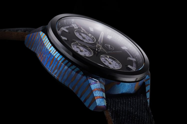 exclusive side design zelos watch