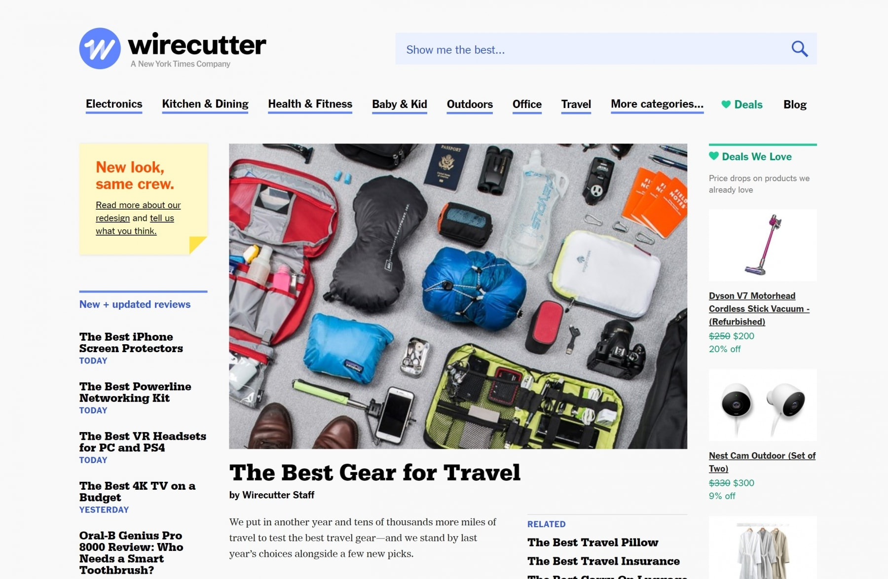 wirecutter travel kits site