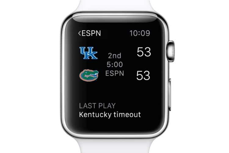 apple espn sports app