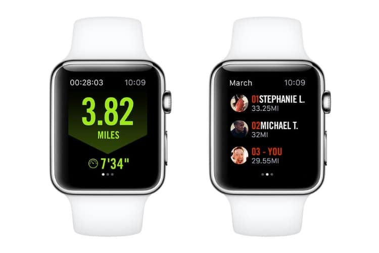 apple nike+ run club app