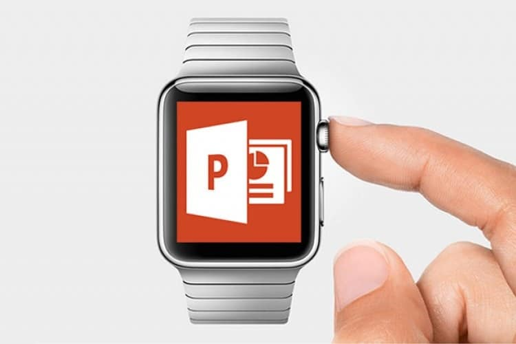 apple microsoft powerpoint app