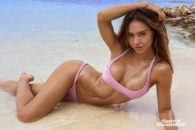 alexis ren stars in sports illustrated swimsuit