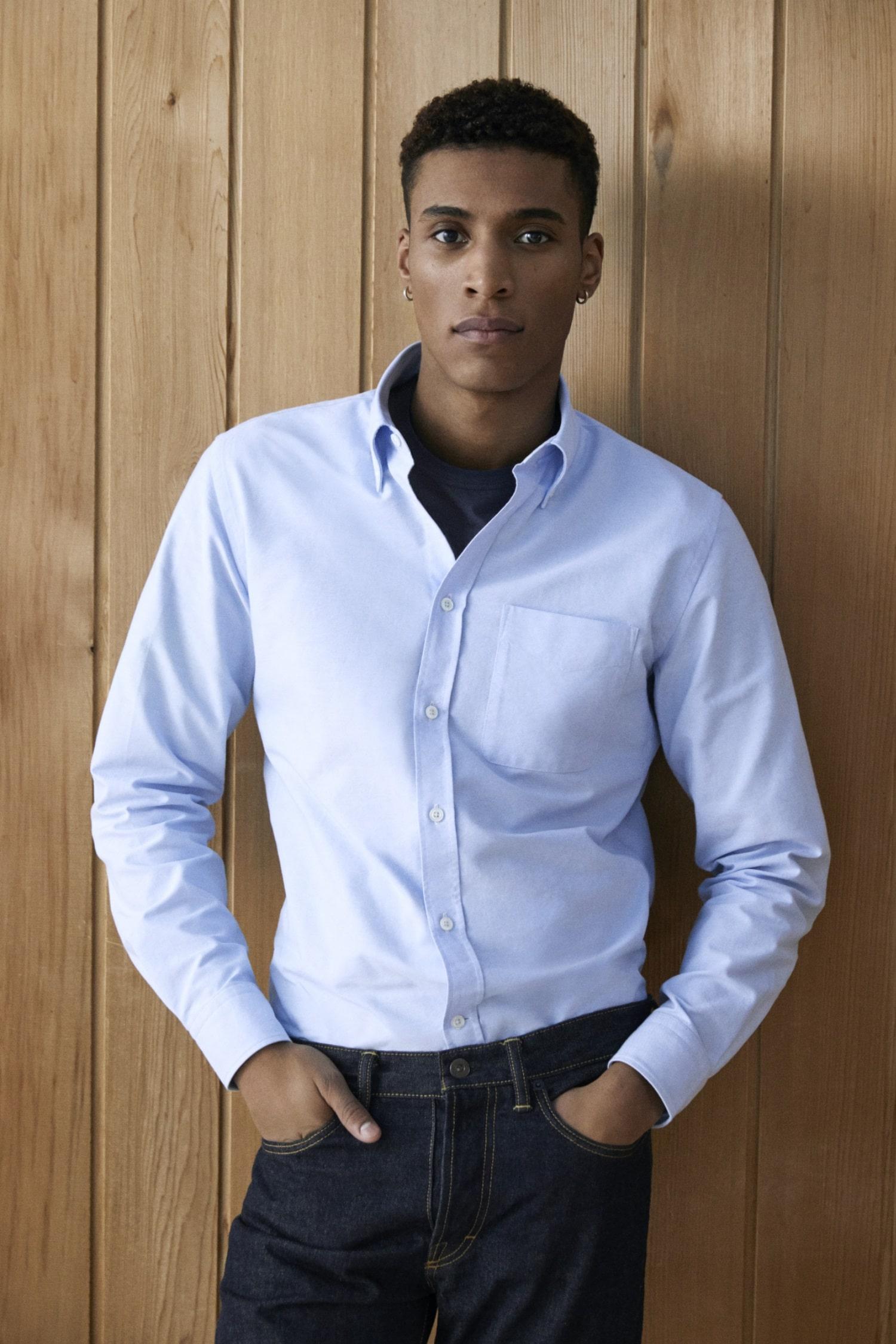 olie arnold mr p white shirt
