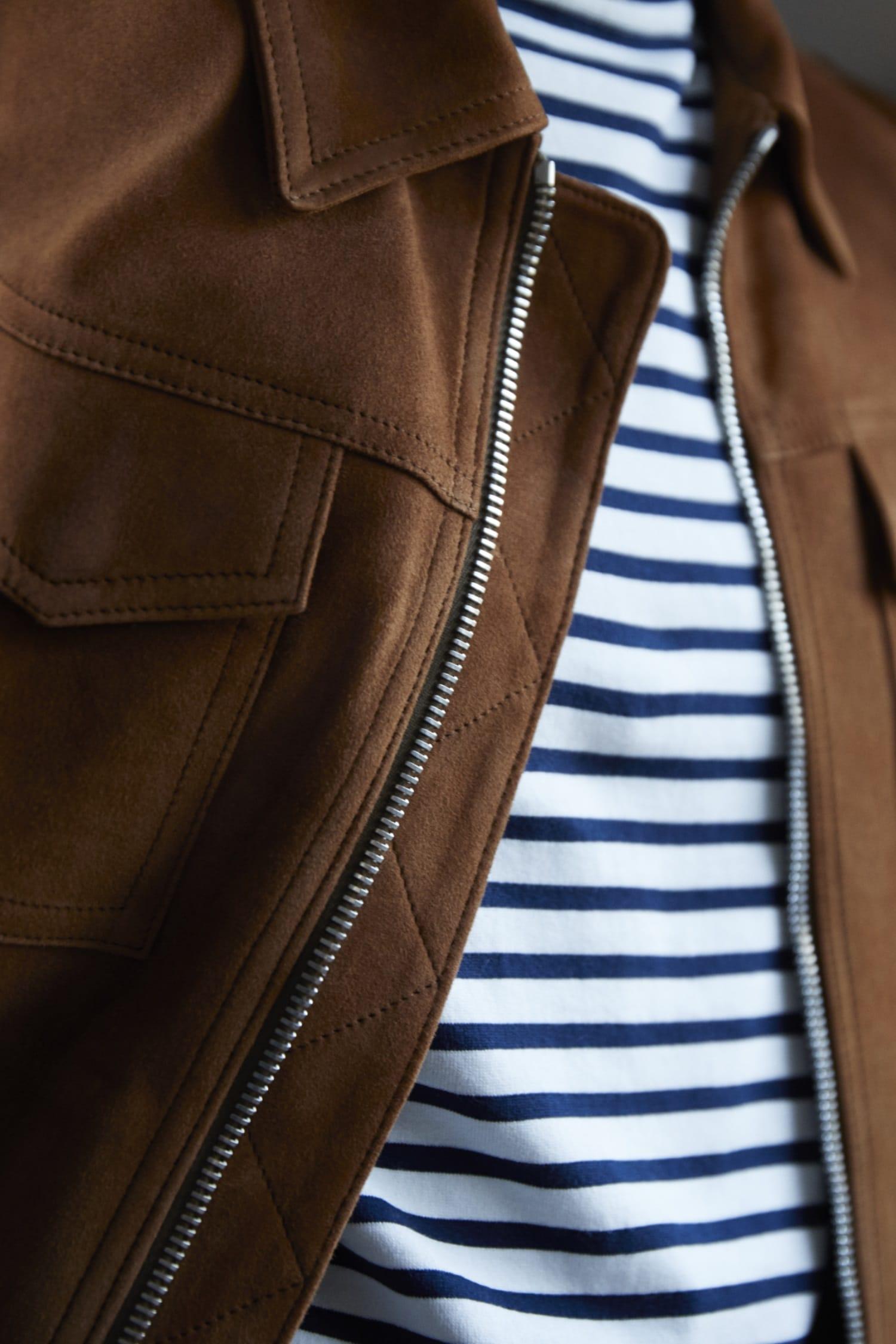 olie arnold mr p jacket zipper