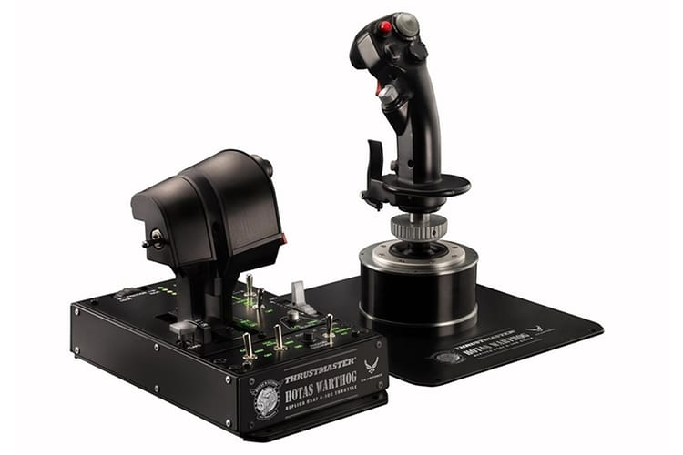 thrustmaster 2960720 hotas warthog flight stick