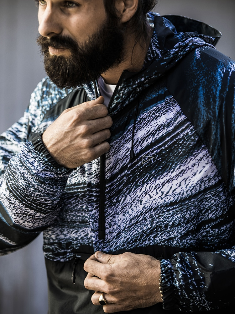 sqd athletica patton hoodie zipper jacket