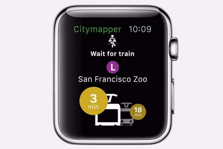 apple citymapper