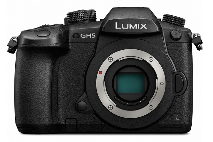 lumix gh5 digital camera back side