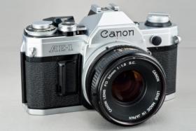 canon ae 1 film camera released