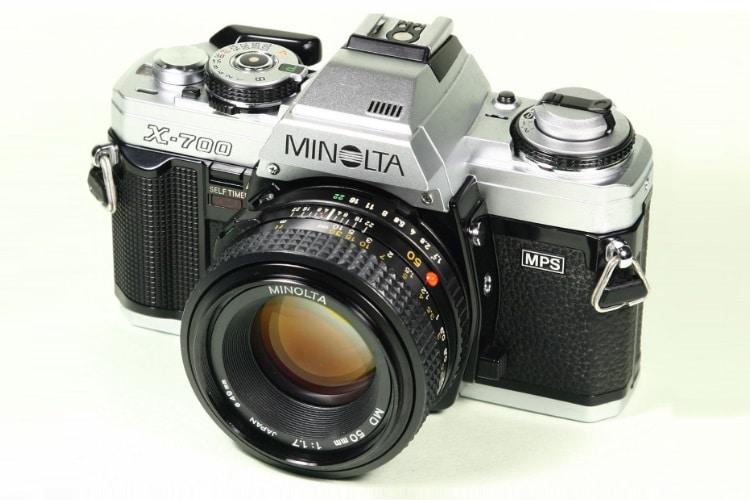 minolta x-700 35mm slr film camera