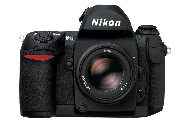 nikon f6 af 35mm slr film camera