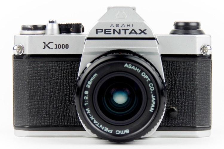 pentax k1000 rear camera
