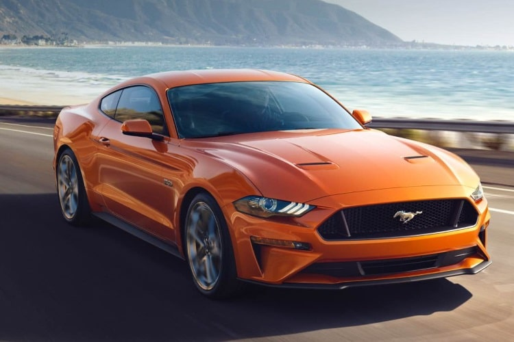powerful ford mustang
