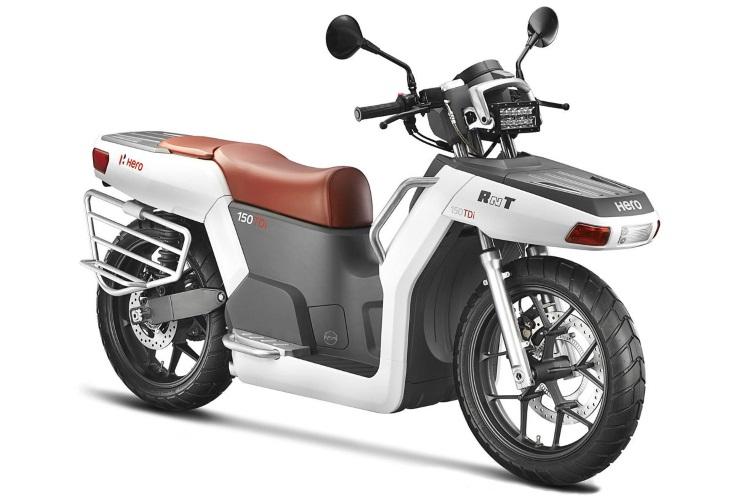 hero motocorp rnt motorcycle