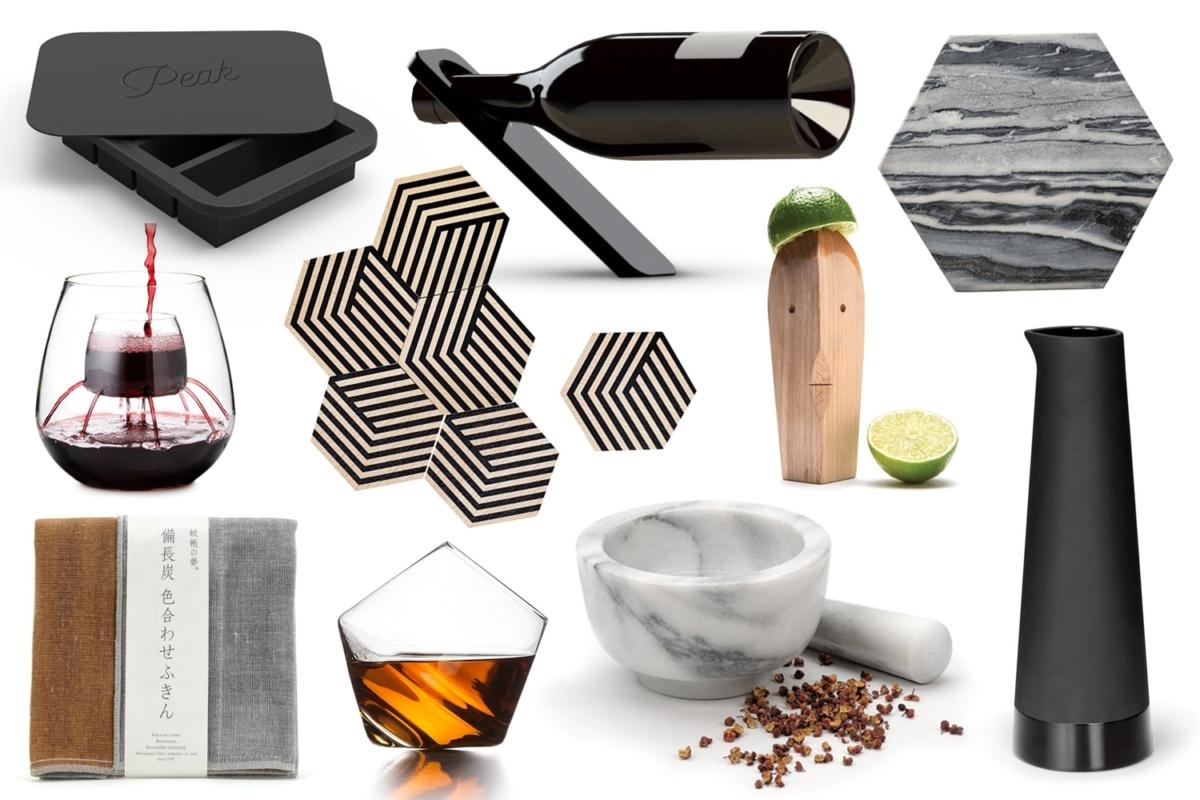 modern home bar tools