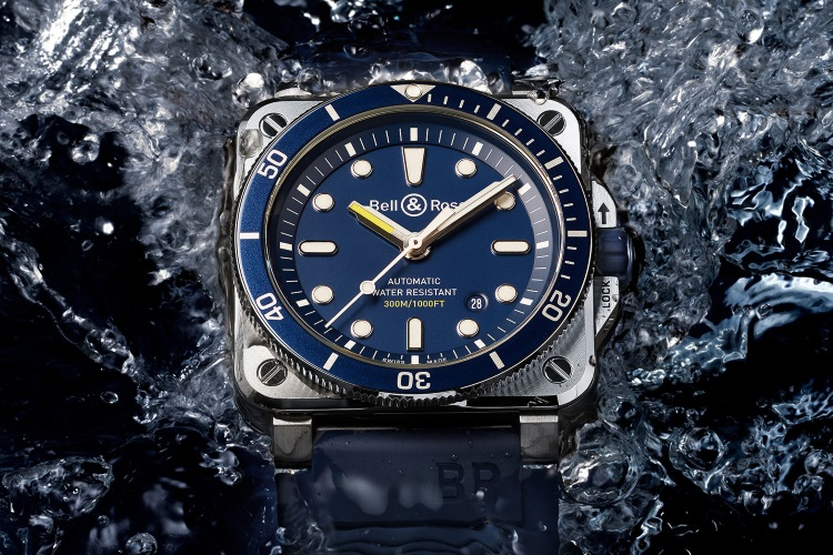 bell & ross br03 diver collection
