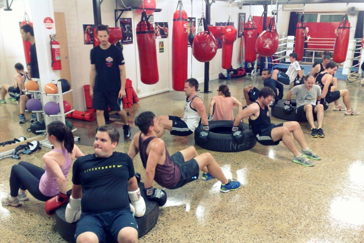 knockout fitness and boxing forest hill