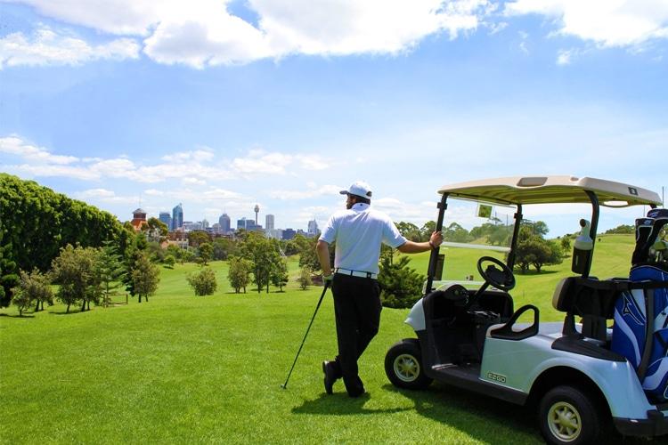 sydney moore park golf
