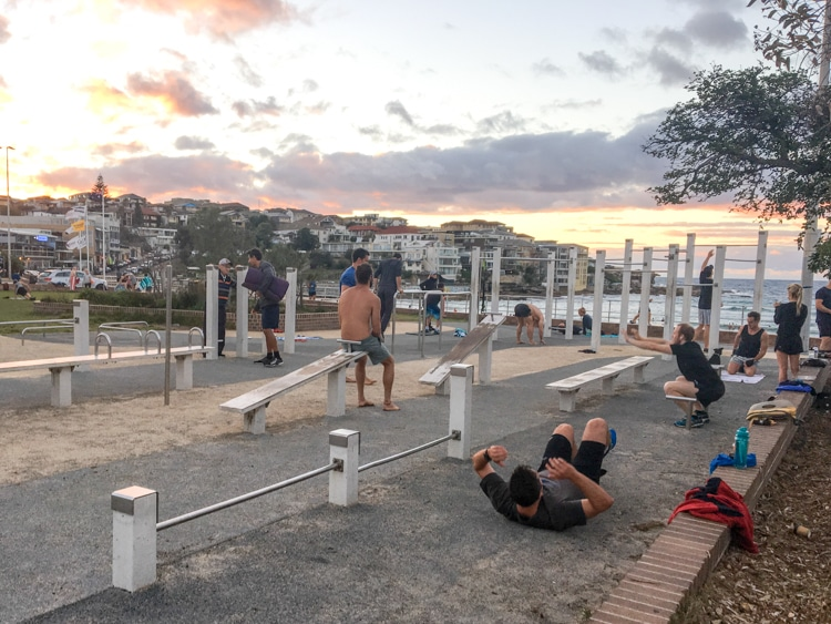 best outdoor gyms in sydney