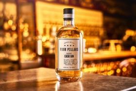 four pillars new sherry cask gin bottle