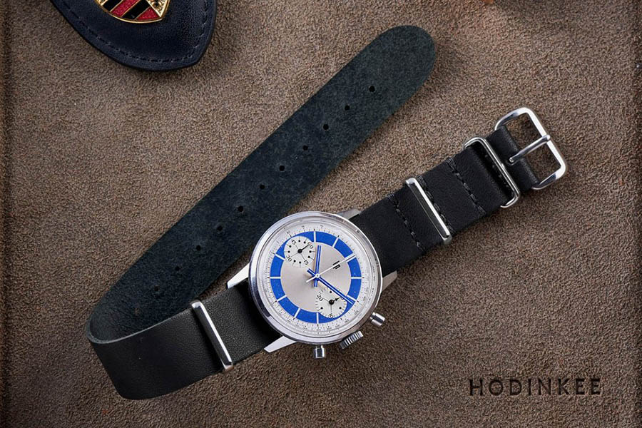 hodinkee kangaroo leather nato strap