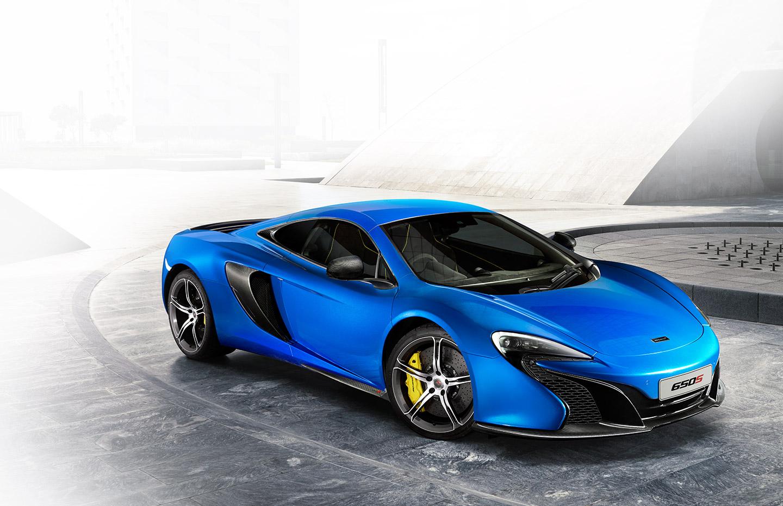 blue color supercar