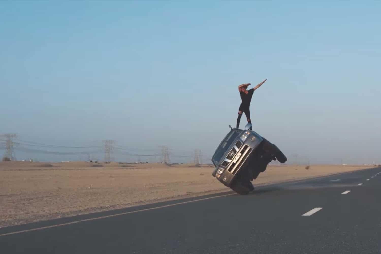 jay alvarrez car stunt