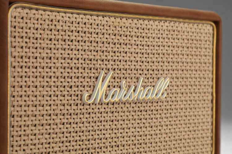 marshall acton tawny speaker front view