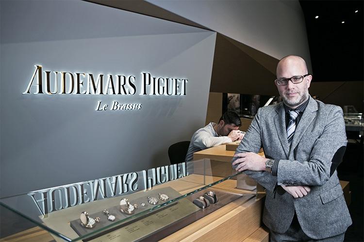 audemars piguet new watch men standing